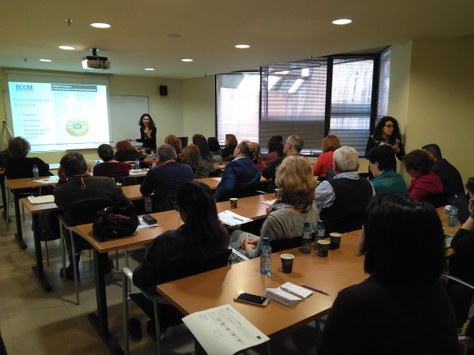 Project BOOST: Training in Barcelona